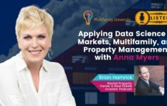 Applying Data Science to Markets, Multifamily, and Property Management with Anna Myers