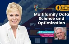 Multifamily Data Science and Optimization