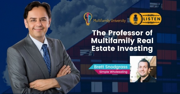 The Professor of Multifamily Real Estate Investing